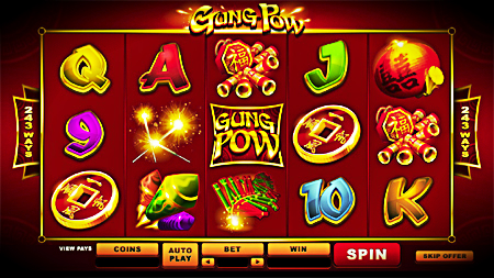 Slot Game with a Chinese Theme.