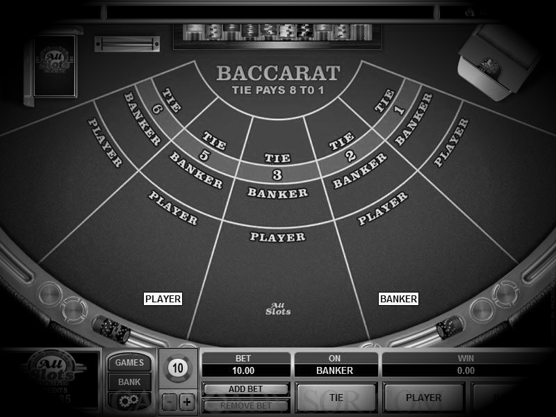 the game of bacccarat